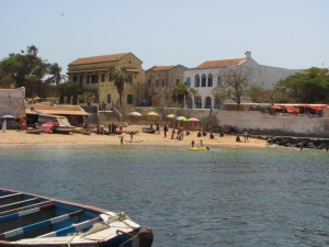 Gorée Island beach