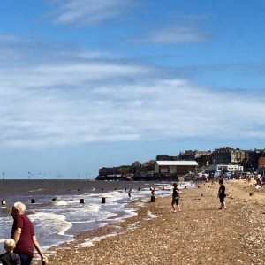 Seashore at Hastings