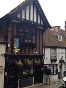 Pub in historic Hastings