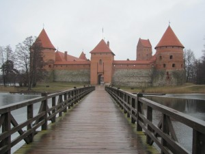 Trakai castle, not far from VIlnius, Lithuania