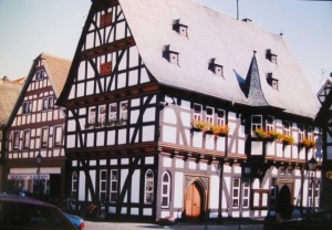 Traditional architecture in Schotten