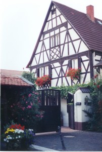 Typical Fachwerk in Osthofen