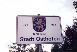 Osthofen sign 1999