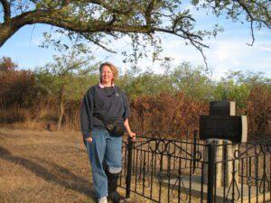 Visiting the cemetery in my ancestral town of Hoffungstal, Bessarabia, Ukraine
